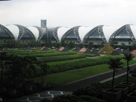 Ausgang Ankunft - Flughafen Bangkok-Suvarnabhumi (BKK)