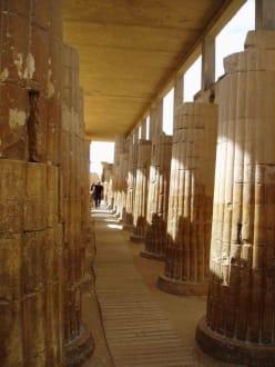 Säulenhalle in Sakkara - Nekropole von Sakkara