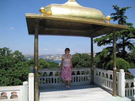Topkapi-Serail, Goldener Baldachin - Topkapi-Palast