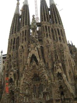 Sagradia Familia Barcelona - Sagrada Familia