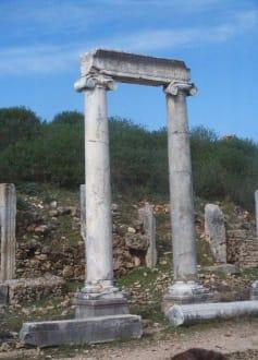 Türkeirundreise 2006 - Antike Stadt Perge