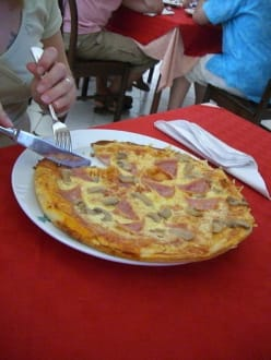 Pizza im Ristorante - Ristorante im Hotel Plaza