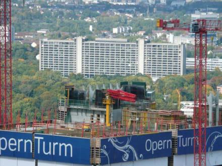 Baustelle Operturm - Maintower