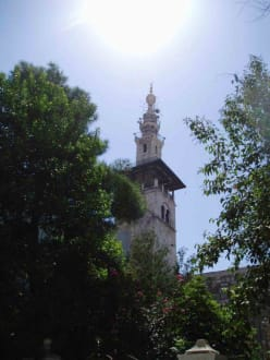 Minarett - Omajaden Moschee