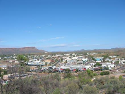 Stadtansicht - ANZAC Memorial Hill