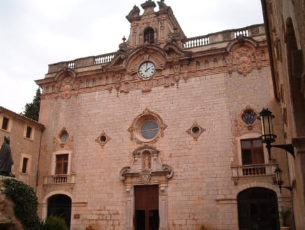 Hof vom Kloster Lluc - Santuari de Lluc