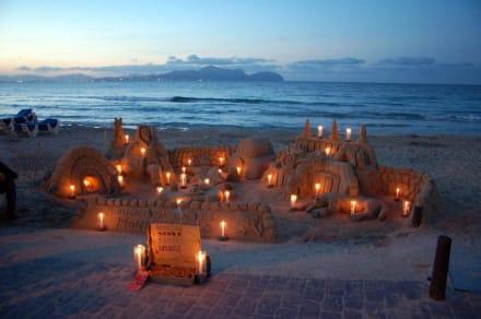 Abendstimmung am Wasser - Strand Can Picafort