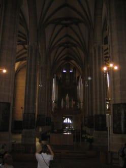 Die Orgel im Dom. - Erfurter Dom