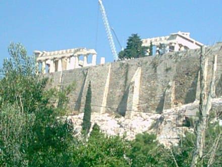 Akropolis von unten - Akropolis