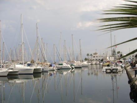 Viele schöne Yachten - Yachthafen Port el Kantaoui