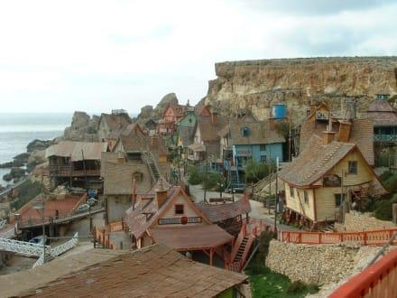 Holzhäuser - Popeye Village