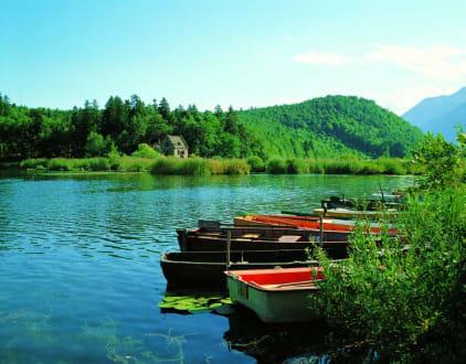 Idyllische Bootsfahrt am Montiggler See - Montiggler See