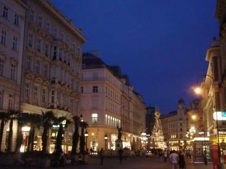 """Der """"Graben"""" in Wien in einer Juli-Sommernacht - Graben"""