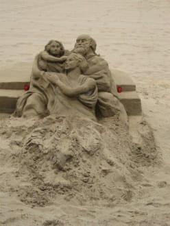 Sandfiguren - Strand Maspalomas