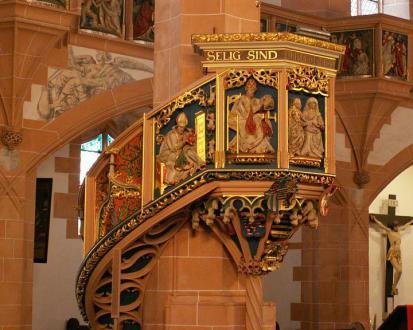 Innenansicht, Detail - St. Annenkirche