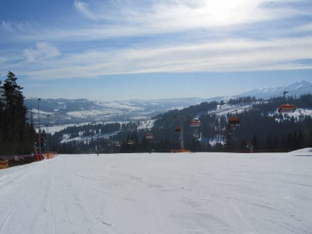Berg/Vulkan/Gebirge - Skigebiet Kotelnica Białczańska
