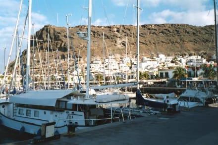 Puerto de Mogan (Klein-Venedig der Kanaren) - Hafen Puerto de Mogán