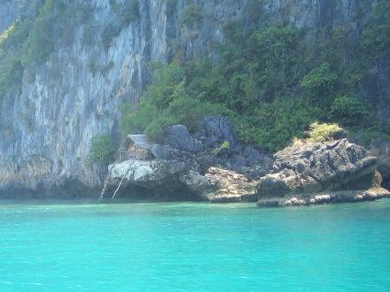Entdeckung! - Bootstour Longtailboot Mai Pai Bay