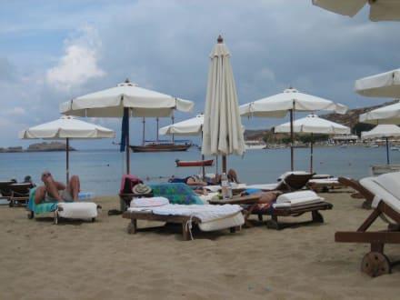 Strand von Lindos - Strand Lindos