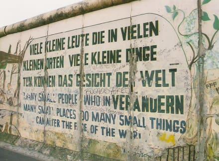 East-Side-Gallery - East Side Gallery - Berliner Mauer