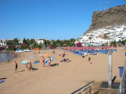 Strand in Puerto de Mogan - Strand Puerto de Mogán