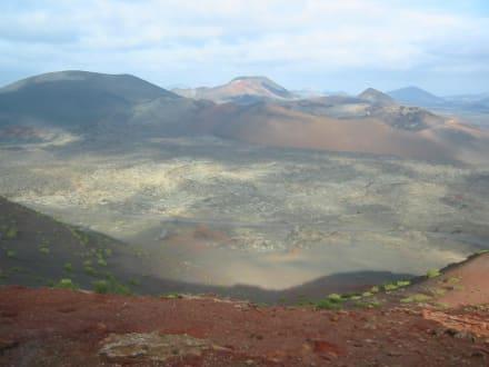 Timanfaya - Nationalpark Timanfaya (Feuerberge)