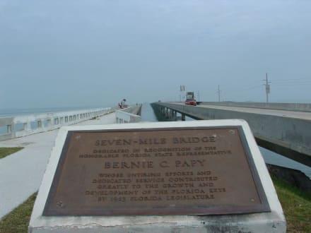 Längste Brücke auf den Key`s - Sieben Meilen Brücke
