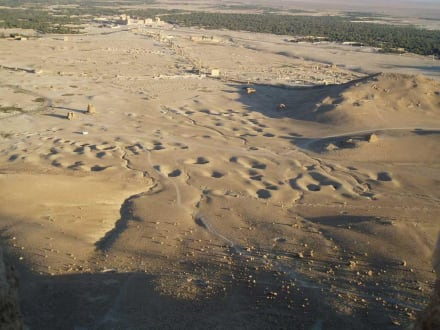 Römische Anlagen in Palmyra - Ruine Palmyra