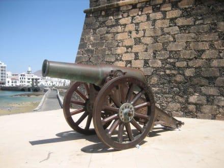 Schweres Geschütz - Castillo de San Gabriel
