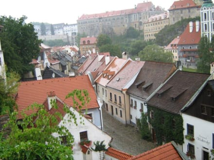 Stadt/Ort - Altstadt Krumau/Cesky Krumlov
