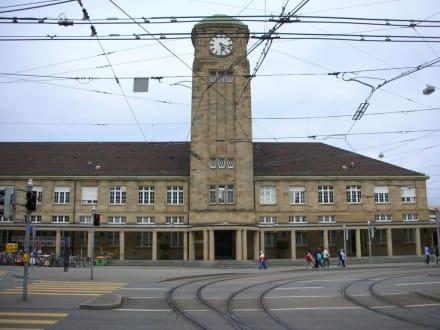 Badischer Bahnhof in Basel - Badischer Bahnhof