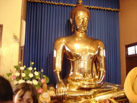 Goldene Buddha - Wat Traimit / Goldener Buddha