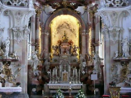 Viele kleine Details - Wallfahrtskirche Birnau Uhldingen