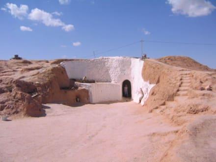 Höhlenwohnung in Matmata - Südtunesien mit Bergoasen