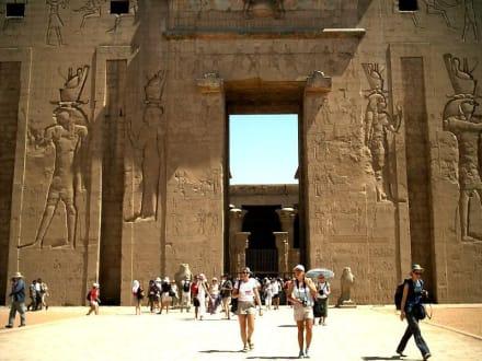 Edfutempel - Horus Tempel Edfu