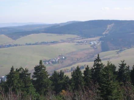 Ausblick vom Fichtelberg - Fichtelberg