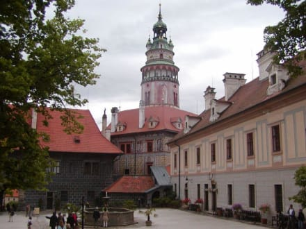 Die Burg Krumau - Burg & Schloß Český Krumlov (Krumau)