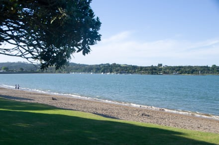 On the Best Beach in Paihia -