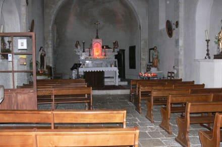 In der Kirche - Burg Gourdon
