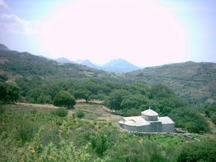 Kapelle in den Bergen - Hinterland von Naxos