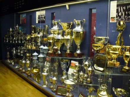 im Museum - Stadion Old Trafford / The Theatre of Dreams