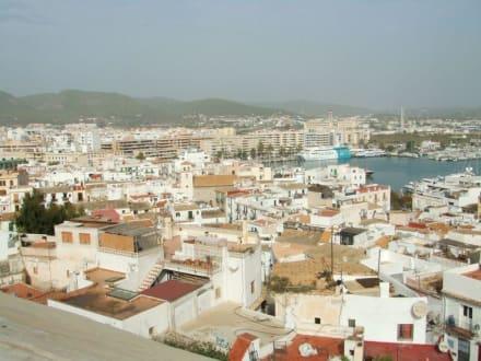 Wunderbares Panorama - Altstadt Dalt Vila Ibiza
