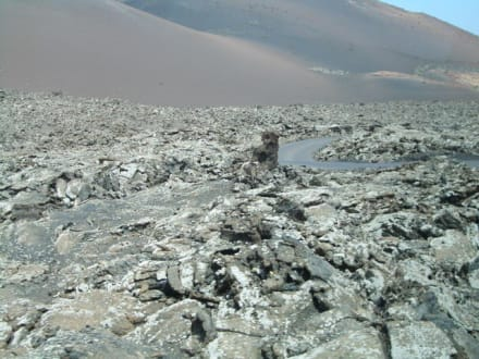 Erstarrte Lava - Nationalpark Timanfaya (Feuerberge)