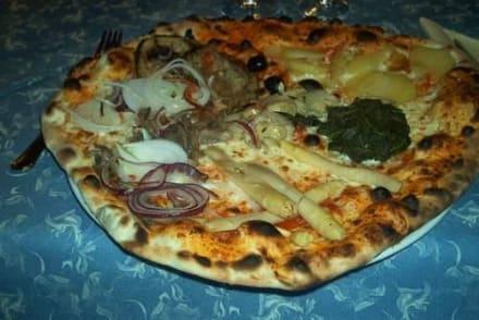 Die vegetarische Pizza - Friedrich August Hütte