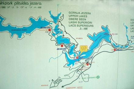 Plitwicer Seenplatte - Nationalpark Plitvicka Jezera (Plitvicer Seen)