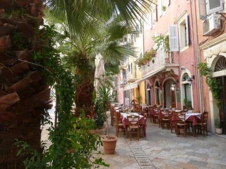 Romantische Idylle in Korfu Stadt - Altstadt Kerkyra/Korfu Stadt