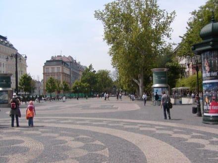 Prominade - Uferpromenade in Bratislava