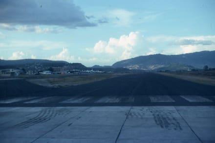 Start zum Weiterflug nach Chile - Flughafen Tegucigalpa (TGU)