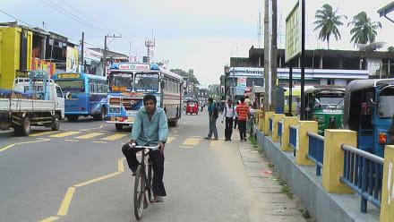 Neben dem Bus Bahnhof  - Transport