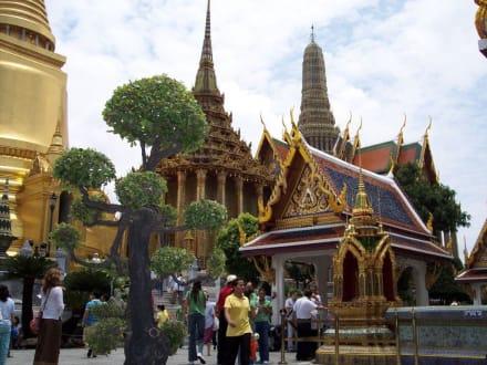 Tempel Wat Phra Keo - Wat Phra Keo und Königspalast / Grand Palace